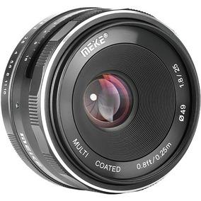 Lente Meike 25mm F/1.8 Para Sony E-mount Aps-c Foco Manual