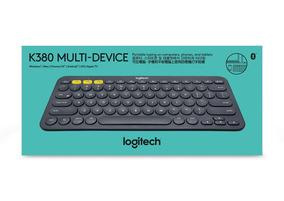 Logitech Teclado K380 Bluetooth Universal (black)