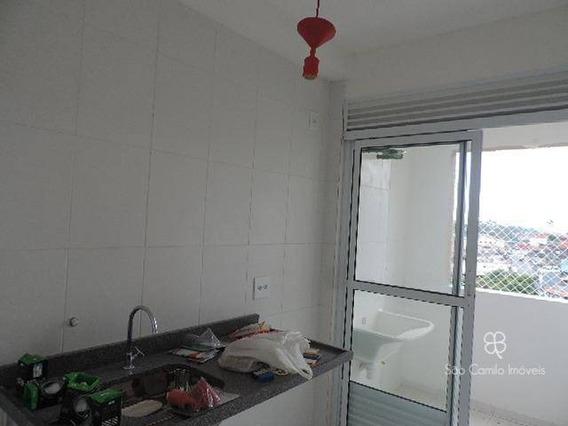 Apartamento Com 2 Dormitórios À Venda, 46 M² Por R$ 300.000 - Villas Da Granja - Granja Viana - Carapicuíba/sp - Ap0044