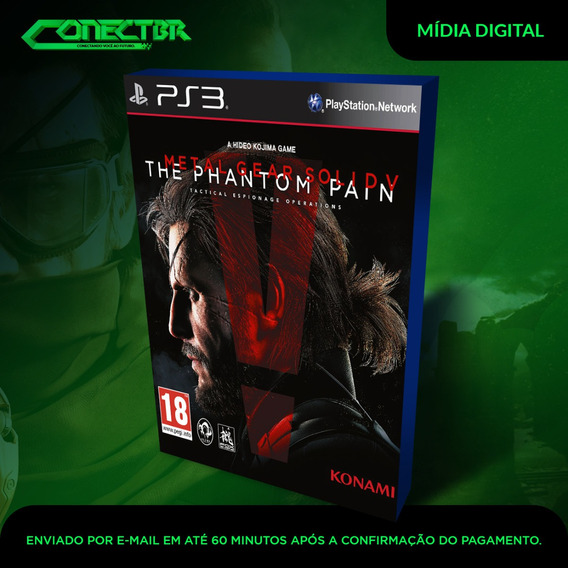 Metal Gear Solid V The Phantom Pain Ps3 Psn Envio Rápido