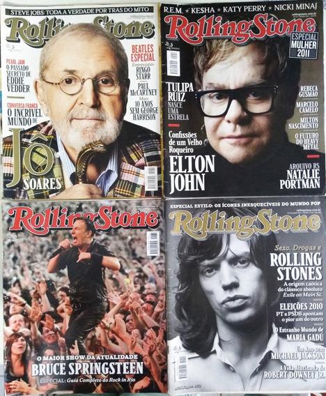 Revista Rolling Stone Lote Com 4 Edições