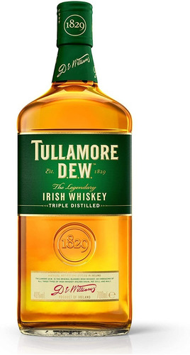 Imagen 1 de 1 de Whisky Tullamore Dew Importado De Irlanda Envío Gratis Caba
