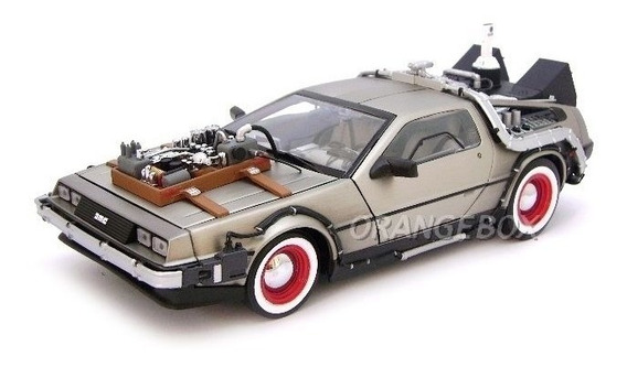 Delorean Time Machine Back To The Future Iii Sun Star (2712)