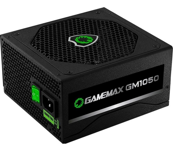 Fonte Gamemax Gm1050 1050w 80 Plus Silver
