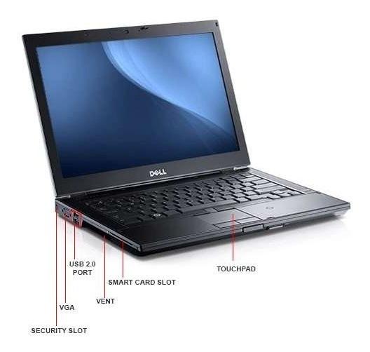 Laptop Dell I5 2,5ghz 4gb Ram 320gb Disco Duro 14 Led E6410