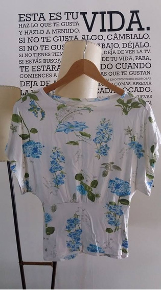 Remera Flores Talle 1 2