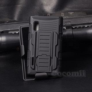 Lg Optimus L5 Case Cocomii Robot Armor Nuevo Heavy Duty Clip