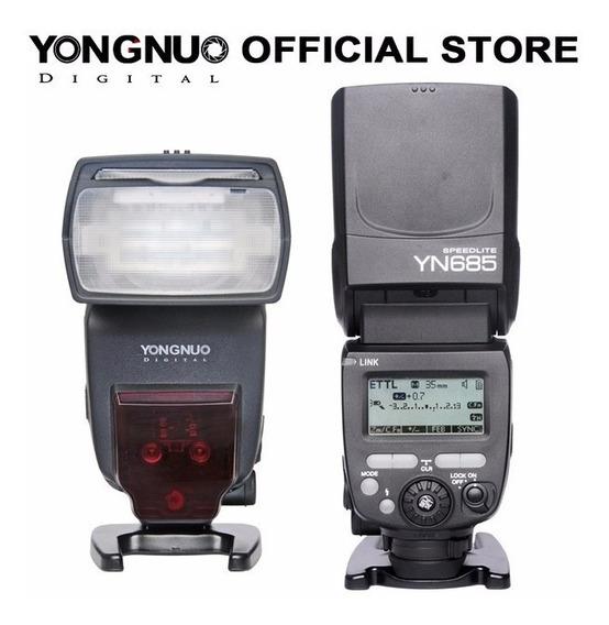 Flash Yongnuo Yn- 685 Yn685 Ttl Radio Embutido Nikon