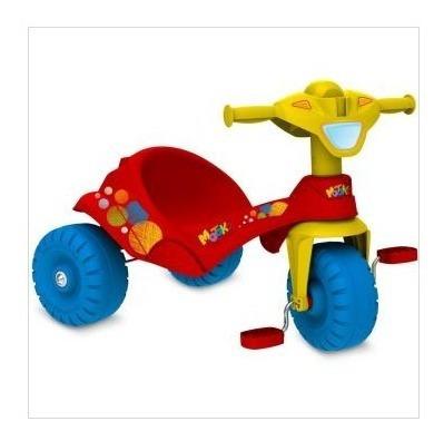 Triciclo Motoka Vermelho Brinq. Bandeirante
