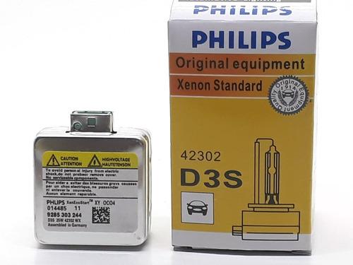 Lampara D3s Xenon Philips 35w Original 6000k 42v