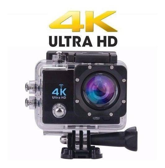 Camera Fotografica E Filmadora 4k Full Hd Wifi Go Cam Pro Sp