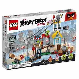 Lego Angry Birds 75824 Pig City Desmontaje Compreonline!