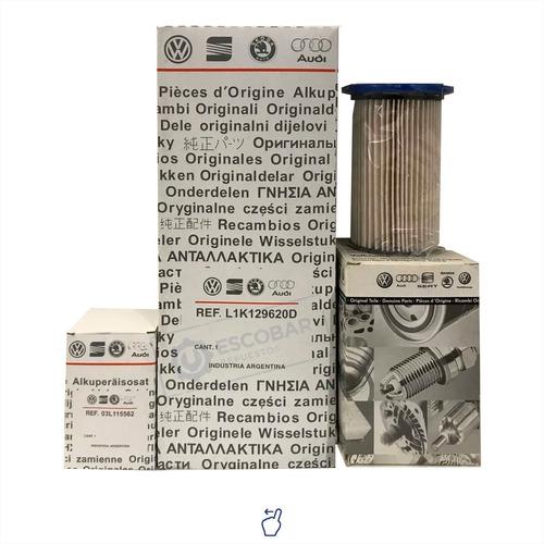 Kit 3 Filtros Aceite + Aire + Polen Vw Tiguan 2.0 Tsi