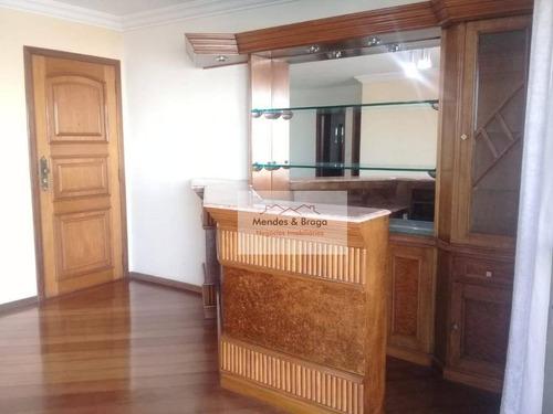 Imagem 1 de 30 de Locação - Venda - Permuta  3 Dormitórios,com Suite -  135 M² Por R$ 720/.000 - Vila Augusta - Guarulhos/sp - Alto Padrão - Ap0550