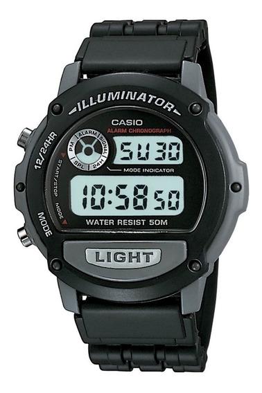 Relógio Casio Illuminator W-87h-1v Original