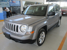 Jeep Patriot Sport, Aut, 4 Cil, A/c, Color Plata, Mod 2015