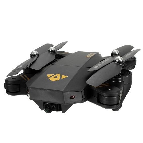 Drone Visuo Xs809hw-vga Selfie Dobrável Wifi Fpv Hd Camera