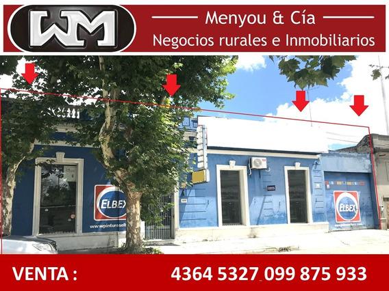 Venta Local Comercial Trinidad Flores 470m2 Centro Ciudad