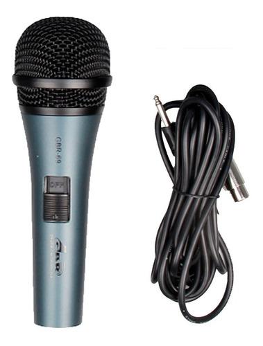 Microfóno De Mano Gbr - 69 Profesional C/cable 4,5 Mts