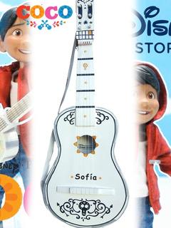 Guitarra Infantil Personal Coco 7 A 11 Años Incluye Correa