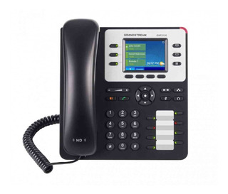 Telfono Ip Color Gigabit De 3 Lneas 3 Cuentas Sip Con 4 Tecl