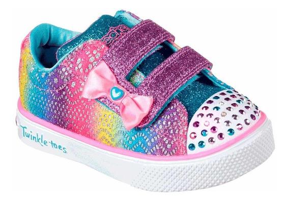 Tênis Skechers Colorful Crochets (21 Ao 28)