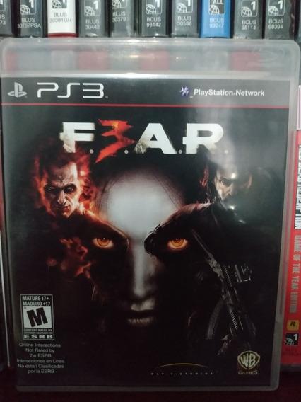 Fear 3 Original Ps3 Completo | Parcelamento Sem Juros