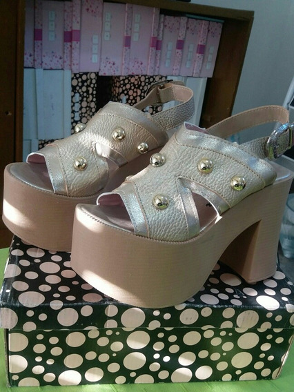 Sandalia Plataforma Calzados Mujer