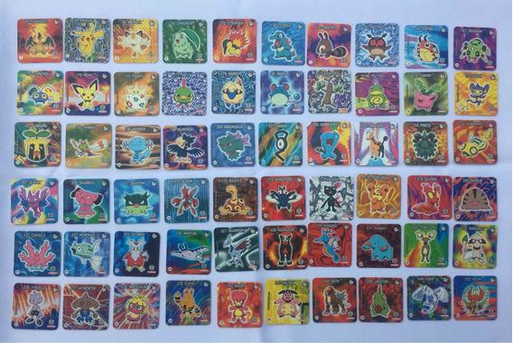 Coleção Tazos Jo-ken-pokemon Elma Chips 2001 Jokenpokemon