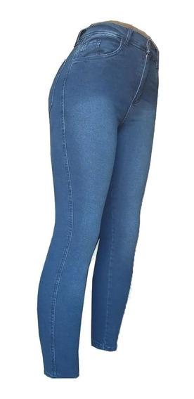Jeans Elastizados Tiro Alto Vitron (4506)