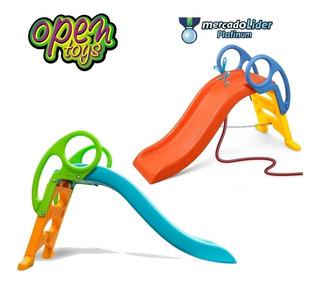 Tobogan 3 Niveles 2 Esc Agua Vegui +regalo / Open-toys 34 Ea