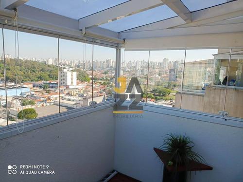 Imagem 1 de 30 de Cobertura Com 2 Dormitórios À Venda, 106 M² Por R$ 980.000,00 - Ipiranga - São Paulo/sp - Co0025