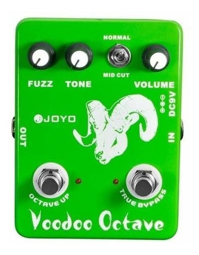 Imagen 1 de 1 de Joyo Jf12 Vodoo Octave Pedal Fuzz Octavador Para Guitarra