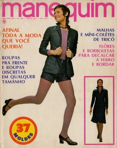 Manequim 1971 - Nº 140 - Ensaio Com As Gêmeas Vivian E Susan