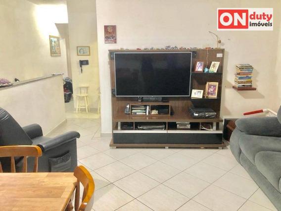 Casa Com 2 Dormitórios À Venda, 70 M² Por R$ 335.000 - Marapé - Santos/sp - Ca0548