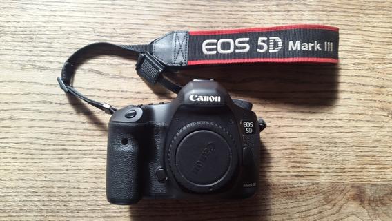 Canon 5d Mark Iii - Cuerpo - 25mil Disparos