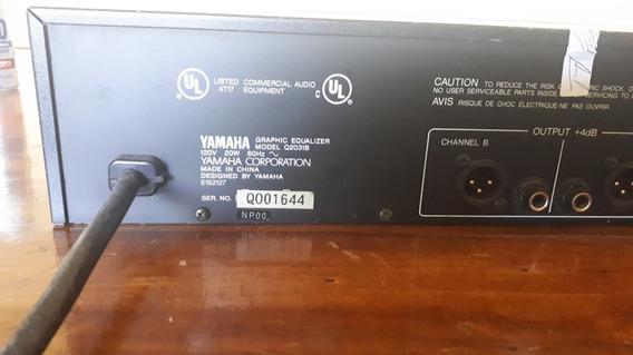 Equalizador Yamaha Q2031b Revisado