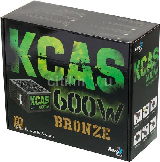 Fonte Atx 600w Reais Bivolt 80 Plus Bronze Pfc 8 Pinos K791