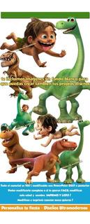 Kit Imprimible Recuerdos Un Gran Dinosaurio