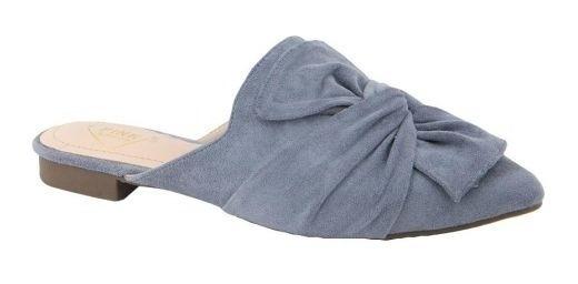 Zapatos Tipo Sueco Casual Pink 9022 Azul Meter Para Mujer