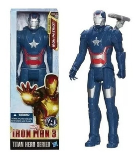 Muñeco Iron Patriot - Iron Man - Original Hasbro
