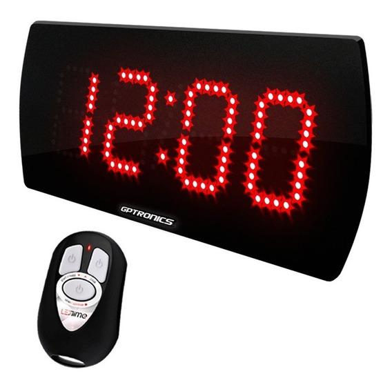 Relógio Com Cronômetro E Termômetro Academia Crossfit Luta
