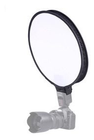 Softbox Para Flash Dedicado Speedlight Circular - 40cm
