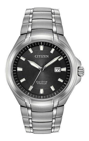 Relógio Masculino Citizen Bm7431-51e Titânio