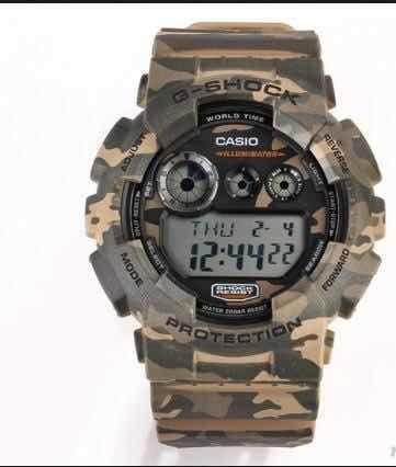Relógio Casio G Shock Camuflado Tático Policia