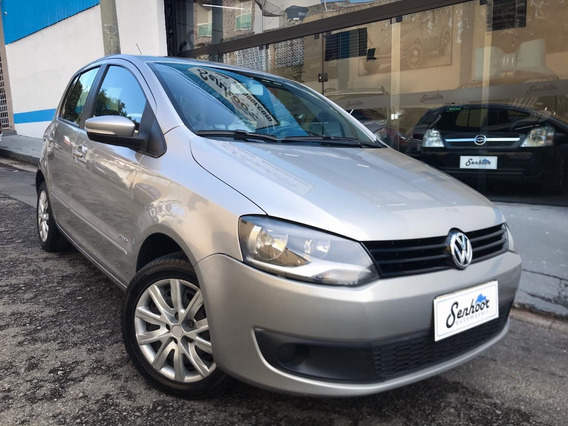 Volkswagen Fox Trend 1.0 Completo Prata - 2013