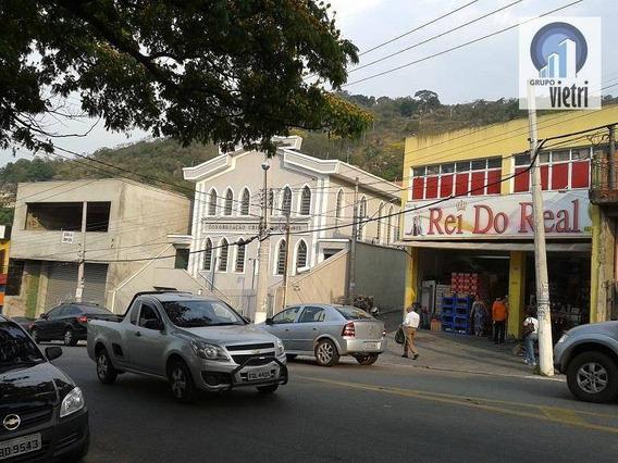 Salão Comercial Para Locação, Laranjeiras, Caieiras. - Sl0050