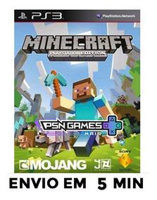 Minecraft Ps3 Psn Envio Agora