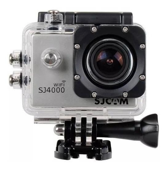 Camera Sjcam Sj4000 Wifi Action Cam 2.0 Resitência Água 30m