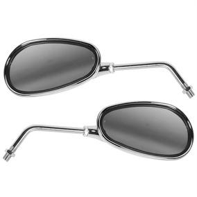 Par Espelho Retrovisor Pro Tork Ee-103h Esportivo Cromado